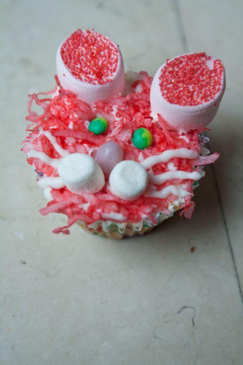 Bunny Rabbit Cupcake