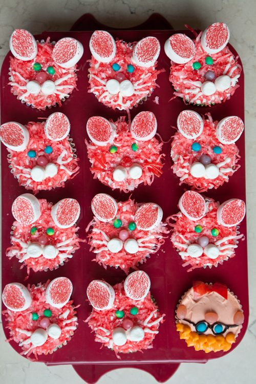 Lair of Bunny Rabbit Cupcakes