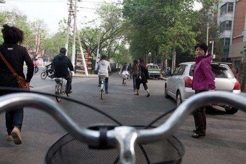 Travel by bike through Beijing