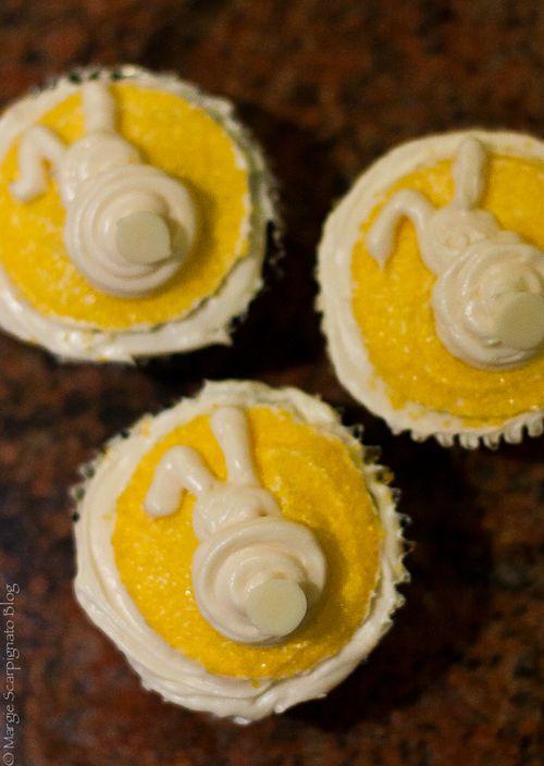 Mid Autumn Festival Rabbit Moon Cupcakes