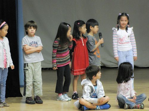 Project Life Friday assembly 1st grade