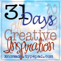 31 Days of Creative Inspiration Button