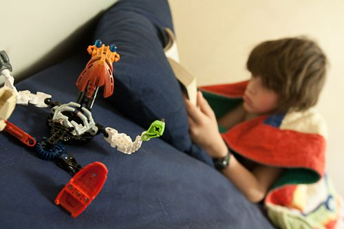 Bionicle & Reading