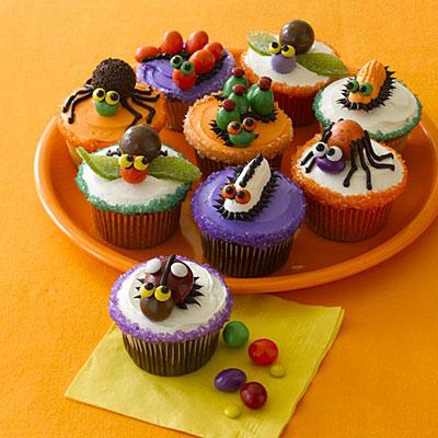 Adorable halloween cupcake idea nihao cupcake for Halloween cupcake decorating ideas
