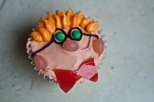 Mad Scientist Cupcakes