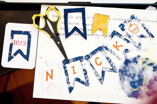 DIY Banner Stamp Project Life Journaling Card