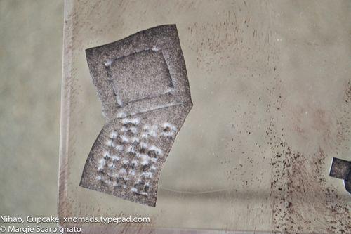 Lotus Root craft foam stamp