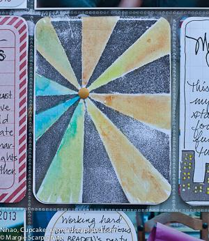 Project Life Starburst Stamp MJS