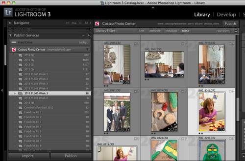 Smart Folder in Adobe Lightroom