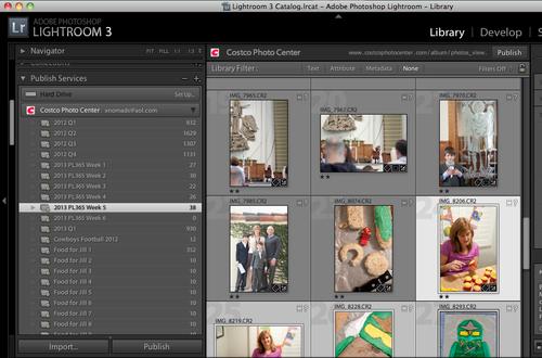 Smart Folder in Adobe Lightroom
