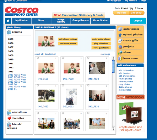 Costco Photo Center Order Prints