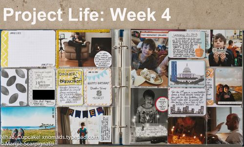 Project Life Week 4