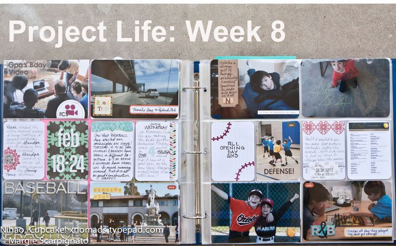 Project Life Week 8-5