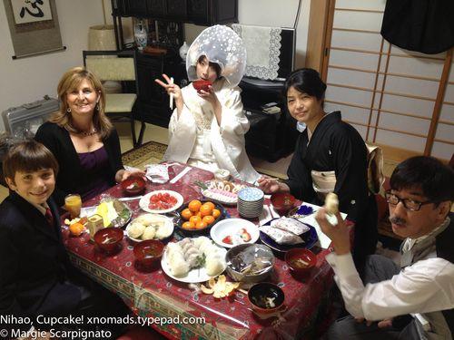 Japanese Wedding @ Buddhist Temple Snacks xnomads.typepad.com