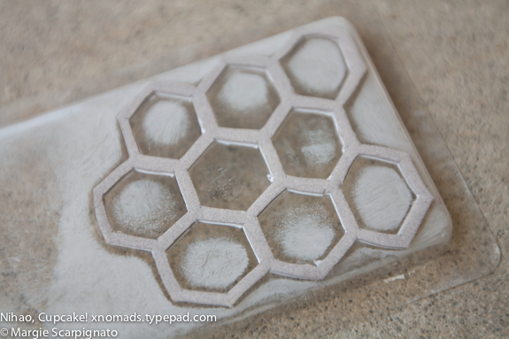 xnomads.typepad.com honeycomb DIY foam stamp