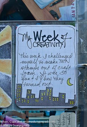 Project Life City Skyline Stamp MJS