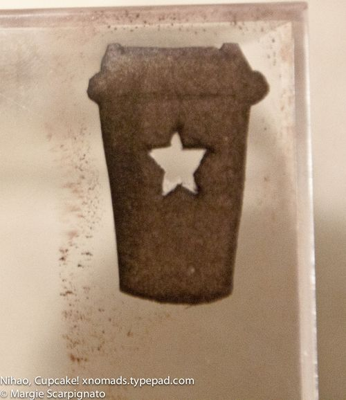 DIY Coffee Cup To-Go Stamp