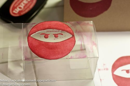 Ninja face DIY stamp