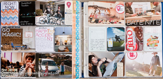 xnomads.typepad.com Project Life wk 10 Right full spread