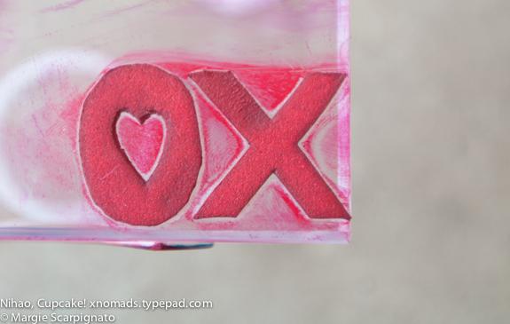 xnomads.typepad.com XO Stamp DIY XO foam stamp