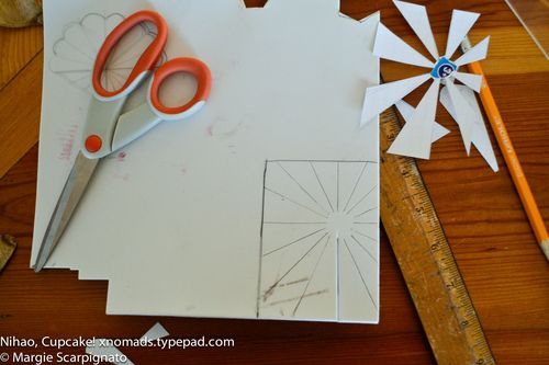 Craft foam template