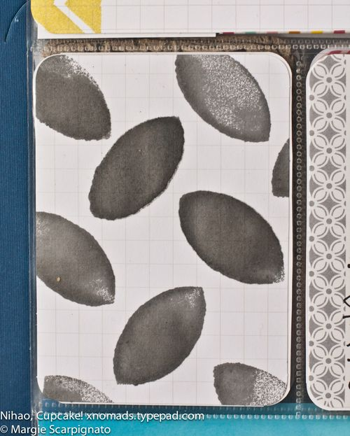 MJS Cat Eye stamp PL Journal Card