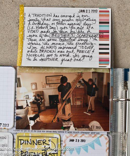 MJS Extra Photo Flip Project Life