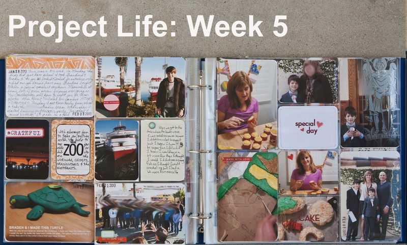 Project Life Week 5