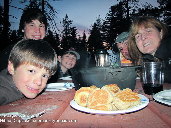 xnomads.typepad.com May FAMILY x 12 Camping Dinner Biscuits